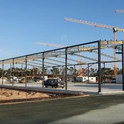 The Construction Of Steel Frame Wearehouse In Limassol Casino